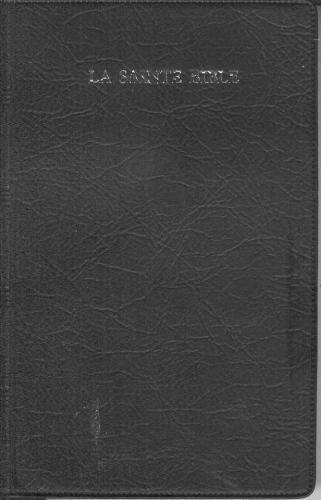 法文聖經膠面白邊LA SAINTE  BIBLE