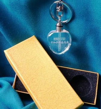 水晶鑰匙圈-耶和華賜福滿滿