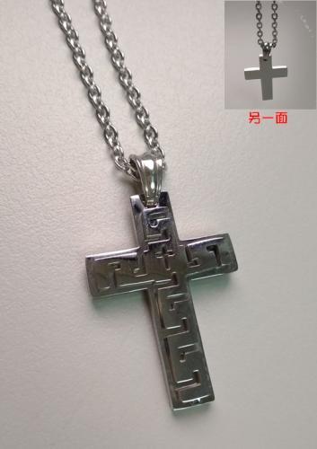 不�_鋼項鍊54-068
