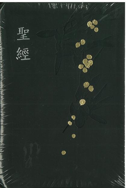 和合本紅字皮面黑金聖經