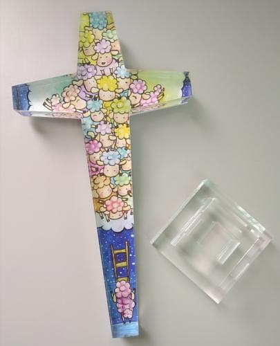 水晶十字架 相信