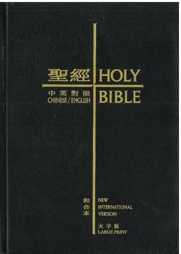 聖經和合本大字版 黑皮金邊